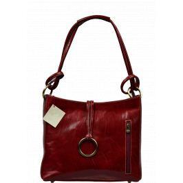 Kožená kabelka Veroncia Rossa