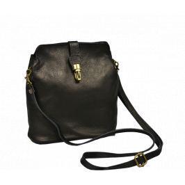 Malé kožené kabelky do ruky Piazza Nera