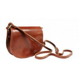 Kožená kabelka z Itálie Mina Marrone