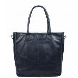 Italská kožená kabelka Fausta Blu Scura