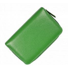 Kožená peněženka WB009 Verde Scura
