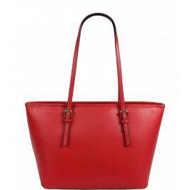 Italská kožená kabelka Lelia Piccola Rossa