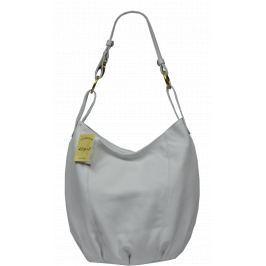 Bílé kožené kabelky Lagia Bianca