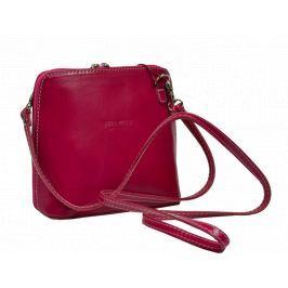 Malé kožené kabelky přes rameno Grana Rosa