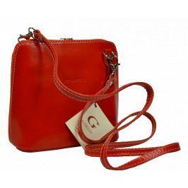 Malá kožená kabelka přes rameno Grana Arancione