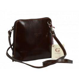 Malá kožená kabelka Grana Cafe