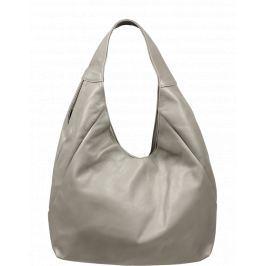 Kožená kabelka z pevné kůže Tita Grigia