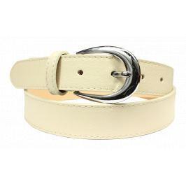 Kožený pásek Cintura Beige Terzo Velikost pásku: 75 cm