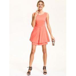 Top Secret šaty dámské s průstřihem na zádech bez rukávu
