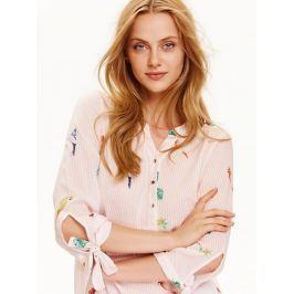 Top Secret Košile dámská pruhovaná s motivy a 3/4 rukávem