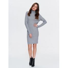Top Secret šaty dámské pletené s rolákem a dlouhým rukávem