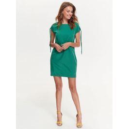 Top Secret šaty dámské na zip a krátkým zavazovacím rukávem
