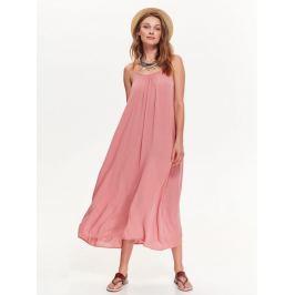 Top Secret šaty dámské růžové dlouhé