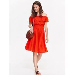Top Secret šaty dámské s volánkem